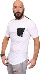 COVER JEANS ΑΝΔΡΙΚΟ T-SHIRT ΛΕΥΚΟ 0154