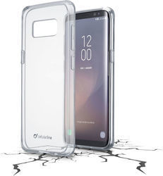 Cellular Line Clear Duo Back Cover Διάφανο (Galaxy S8)