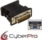 CyberPro DVI-I male - VGA female (CP-DV10)