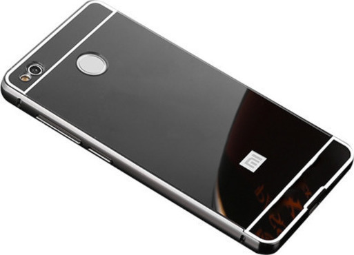 more photos 33bc4 c7f90 Xiaomi Mi 5X/Mi A1 - Ultra Thin Mirror Case Cover Case Transparent Flexible  Soft Side TPU Back Cover Skin Case – Black (oem)