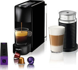 Krups Nespresso Essenza Mini & Aeroccino Black