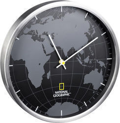 National Geographic Wall Clock World