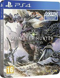 Monster Hunter World (Steelbook Edition) PS4