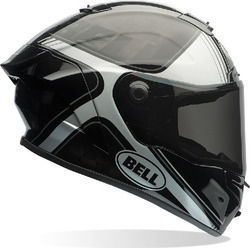 Bell Race Star Tracer Gloss Black/Silver