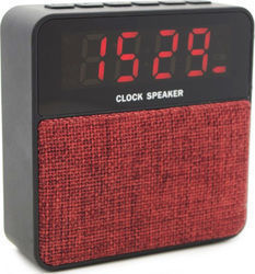 Bulk Alarm Clock Usb Sd Line Red T1-RD