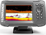 Lowrance HOOK² 5x with SplitShot Transducer and GPS Plotter