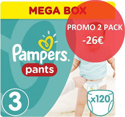 Pampers Pants Mega Pack No 3 Midi (6-11kg) 2x120τμχ