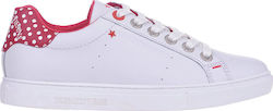 TRUSSARDI SNEAKERS 79A00120-WHITE/RED