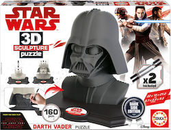3D Darth Vader Black Side Edition 160pcs (17334) Educa
