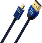 Audioquest HDMI 2.0 Cable HDMI male - micro HDMI male 2m (Slinky)