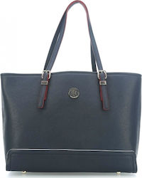 Tommy Hilfiger Honey Med Tote AW0AW04996-905 Navy