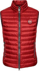 COLMAR GILET STYLE DOWN JACKET RED