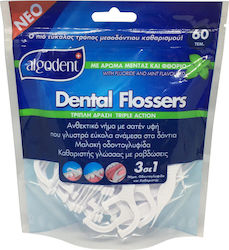 Algotech Dental Flossers Triple Action 60τμχ