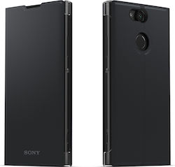 Sony Style Cover Stand SCSH10 Μαύρο (Xperia XA2)