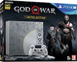 Sony PlayStation 4 Pro Leviathan Gray Limited Edition 1TB & God Of War