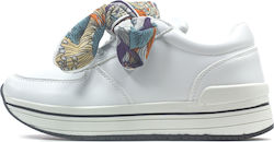 SNEAKER FASHION (FBL120-08118-WHITE)-FUNKY BUDDHA