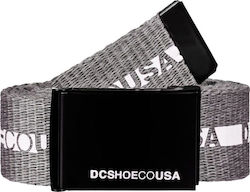 DC CHINOOK 2 WEBBING BELT HEATHER GREY