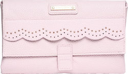 Mayoral Folding Textured Leatherette Changing Mat for Baby Pink