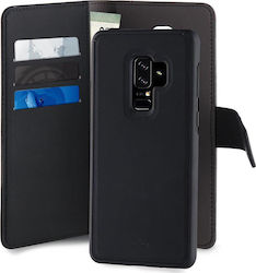 Puro Detachable Wallet Μαύρο (Galaxy S9+)