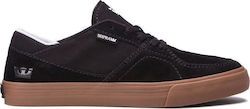 SUPRA MELROSE SHOES BLACK-GUM