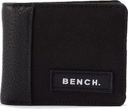 BENCH CANVAS WALLET - UNISEX - ΜΑΥΡΟ