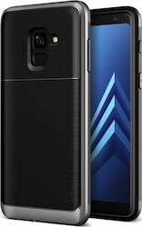 VRS Design High Pro Shield Steel Silver (Galaxy A8 2018)