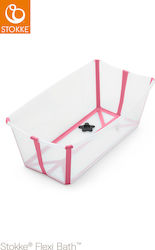 Stokke Flexi Bath Transparent Pink