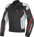 Dainese Air Master Tex Black/Glacie- Grey/Fluo Red