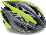 Rudy Project Sterling + Titanium/Lime Fluo