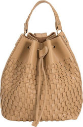 Elena Athanasiou Backpack Pouch Vaccheta Brown