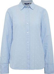 2ND 802K CASUL CHAMBRAY LOOK BLOUSE SHI ΠΟΥΚΑΜΙΣΟ(SteelBlue) TT0AP205530200700000 SteelBlue