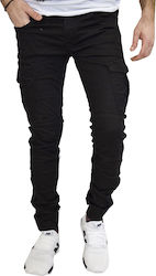 PROJECT X PARIS BLACK JEANS CARGO 88180024