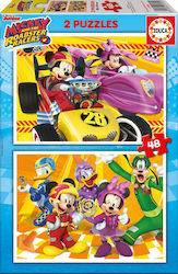 Mickey Roadster Racers 2x48pcs (17239) Educa