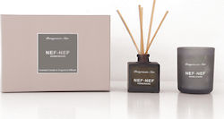 Nef-Nef Pomegranate Noir Candle & Sticks
