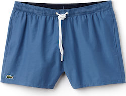 Lacoste Swimming Trunks in Taffeta MH7092-00 Blue