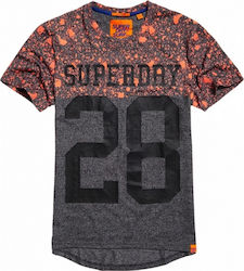Superdry City Number Long Line Tee