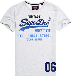 Superdry D2 Shirt Shop Fade Tee White