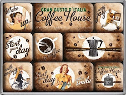 Nostalgic Art Coffee and Chocolate Coffee House 83058