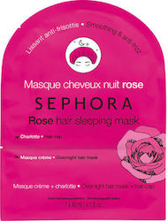 Sephora Collection Rose Hair Sleeping Mask Smoothing & Anti-frizz 30ml