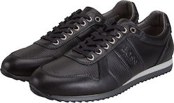 BOSS SHOES J20040 BLACK SPORTY