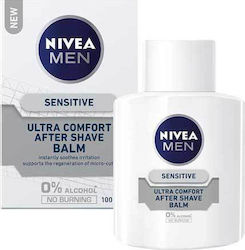 Nivea Sensitive Ultra Comfort After Shave Balm 0% Alcohol No Burning 100ml