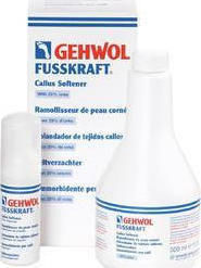 Gehwol Fusskraft Callus Softener Foam with 25% Urea 500ml