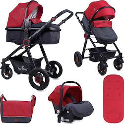 Lorelli Bertoni Alexa Set 3 in 1 10021291800 Black & Red