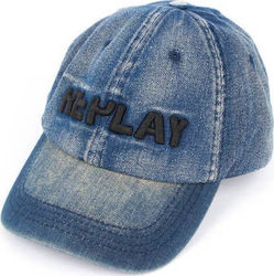 REPLAY Καπέλο AX4153.000.A0013D LT DENIM