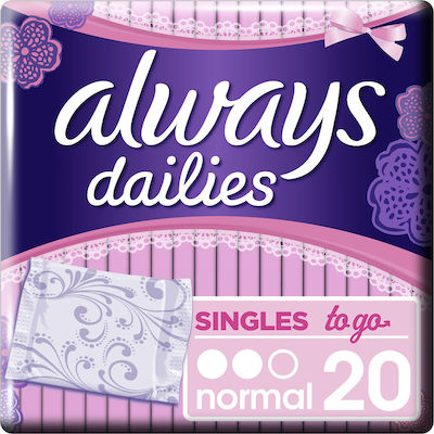 Always Dailies Singles To Go Normal 20τμχ