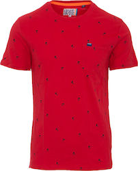 Superdry D2 AOP Lite Pocket Red