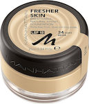 Manhattan Fresher Skin Foundation 34 Soft Beige 25ml