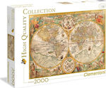 Ancient Map 2000pcs (32557) Clementoni
