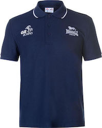 Lonsdale GB Boxing Polo Shirt 632014 Navy