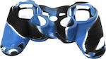 OEM Silicone Case Army Blue/White Dualshock PS3